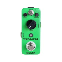 MOOER REPEATER DIGITAL DELAY FFETTO A PEDALE PER CHITARRA