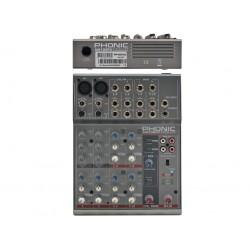 PHONIC AM105 FX MIXER PASSIVO CON EFFETTI VOCE