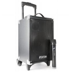 FENTON ST050 CASSA AMPLIFICATA USB MP3 BLUETOOTH A BATTERIA + RADIOMICROFONO VHF