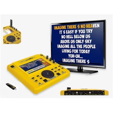 M LIVE OKYWEB 4 KARAOKE DIGITALE MP3 + MIDI PER TV E PC