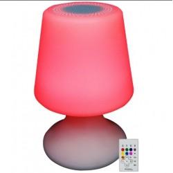 IBIZA LED LAMP BT LAMPADA A LED RGB CON CASSA BLUETOOTH + TELECOMANDO