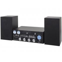 TREVI HF 1900 BT NERO IMPIANTO STEREO HIFI BLUETOOTH RADIO FM LETTORE CD USB